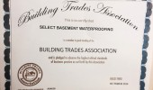 Certify For Building Trades Association
