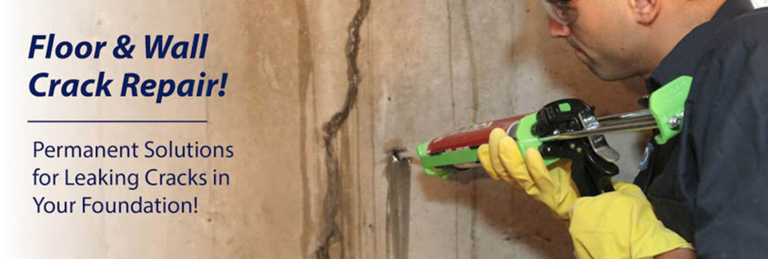 Floor & Wall Crack Repair